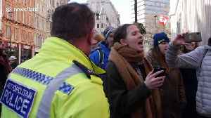 Protesters march in London in support of Wet'suwet'en in Canada [Video]