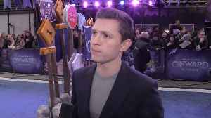 EXCLUSIVE: Tom Holland on 'Onward' [Video]