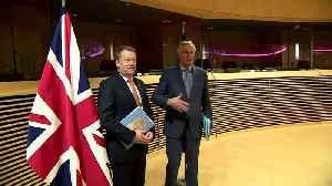 Post-Brexit trade negotiations begin in Brussels [Video]