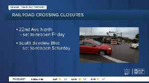 Two Pinellas County railroad tracks to close for emergency repairs [Video]