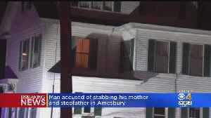 Woman Dies After Amesbury Stabbing; Son Charged With Murder [Video]
