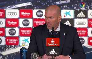 Zidane pleased to see Real earn 2-0 win over Barca after difficult week [Video]
