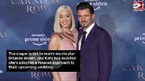 Katy Perry: I'm a bridechilla [Video]