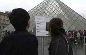 Louvre museum closed again as workers worry over coronavirus [Video]