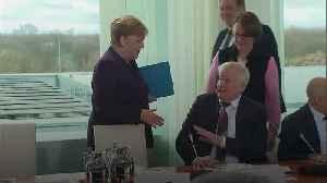 Angela Merkel handshake rebuffed by interior minister [Video]