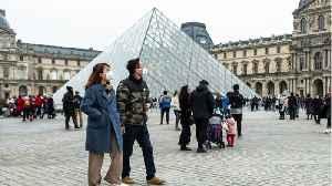 Louvre Museum Closed Amid Coronavirus Concerns [Video]