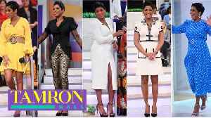 The Story Behind Tamron Hall's NAACP Awards Look [Video]