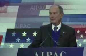 At Israel forum, candidate Bloomberg criticizes rival Sanders [Video]