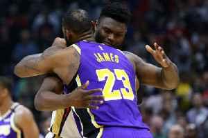 LeBron James Praises Zion Williamson After Lakers Defeat Pelicans [Video]