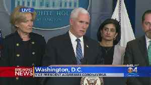 Vice President Mike Pence Addresses Reporters On Coronavirus [Video]