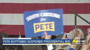 BUTTIGIEG DROPS OUT [Video]
