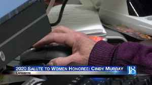 Lafayette City Clerk Cindy Murray to be honored in YWCA Salute to Women [Video]