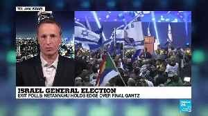 Israel General Election : Netanyahu holds edge over rival Gantz [Video]