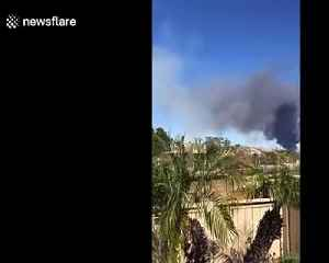 500 homes evacuated due to Mann fire in Southern California [Video]