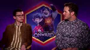 """Chris Pratt on 'Outward': """"I always wanted to be a bigger brother"""" [Video]"""