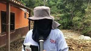 Trabajos sobre la vía entre Bucaramanga y Bogotá [Video]