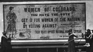 Before the 19th amendment, Colorado women led way in gaining voting rights [Video]