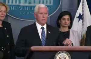 Pence is asked if he'd take his family to Disney World amid coronavirus outbreak [Video]