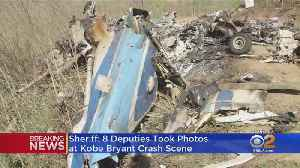 'Sense Of Betrayal': Sheriff Villanueva Says 8 Deputies Involved In Sharing Of Kobe Bryant Crash Photos [Video]