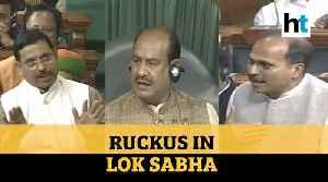 BJP, Opposition MPs spar as Lok Sabha Speaker warns against unruly behavior [Video]