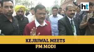 Delhi CM Arvind Kejriwal meets PM Modi, discusses Delhi violence, coronavirus [Video]