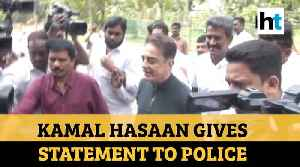 'Indian 2' tragedy: Kamal Haasan records statement before police [Video]