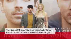 Sophie Turner is 'punching way above her league' with Joe Jonas [Video]