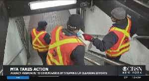 MTA Disinfecting Full Fleet In Battle Against Coronavirus Spread [Video]