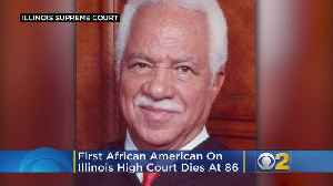 1st African American On Illinois High Court Dies At 86 [Video]