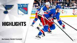 NHL Highlights   Blues @ Rangers 3/03/2020 [Video]