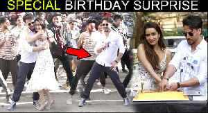 Tiger Shroff's BEST Birthday Surprise For Shraddha Kapoor, Dances In The Middle Of Road [Video]