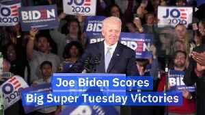 Joe Biden Scores Big Super Tuesday Victories [Video]