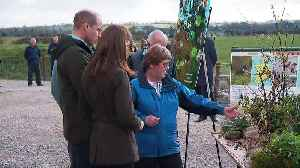 Prince William and Kate visit Teagasc Research Farm [Video]