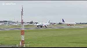 FILE: Struggling UK airline Flybe set to close imminently [Video]