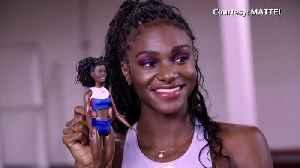 Barbie unveils European female athlete collection [Video]