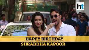 Watch: Shraddha Kapoor turns 33, celebrates birthday with Tiger Shroff [Video]