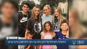 New documents released after teen's death [Video]