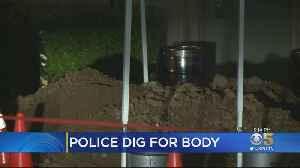 Tip In Old Homicide Case Sends Police Digging For Body Under Building In Los Gatos [Video]