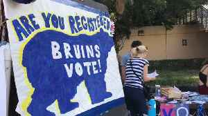 UCLA Students Face Hourslong Wait to Cast Ballots at Campus Vote Centers [Video]