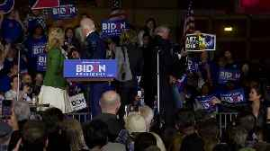 Protesters Rush Stage at Biden Rally in California [Video]