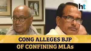 Madhya Pradesh Congress alleges BJP of 'confining' 8 MLAs at Gurugram hotel [Video]