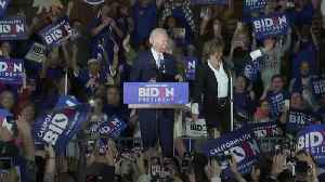 Biden surges on Super Tuesday [Video]