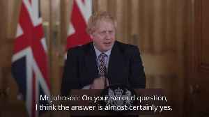 Boris Johnson says he will 'almost certainly' be taking paternity leave [Video]