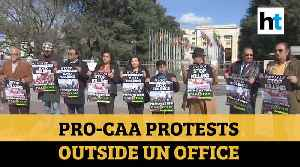 Pro-CAA rally outside UN office; demand justice for minorities in Pakistan [Video]