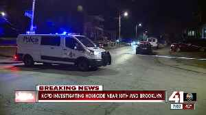 KCPD: 1 found shot to death near 10th and Brooklyn [Video]