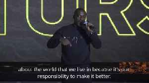 Idris Elba gives rousing speech on Hackney upbringing [Video]