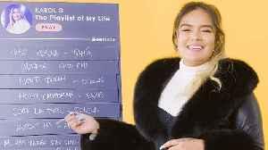 Karol G Creates the Playlist to Her Life [Video]