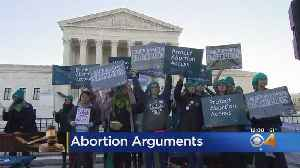 Supreme Court Hears Arguments On An Abortion Case [Video]