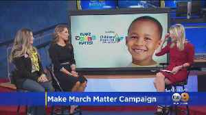 Danielle Fishel Karp Talks Make March Matter Campaign [Video]