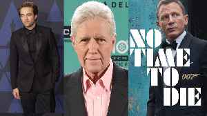 Alex Trebek's Emotional Cancer Update, 'No Time to Die' Delays Release Date & First Look at Batman's Batmobile | THR News [Video]